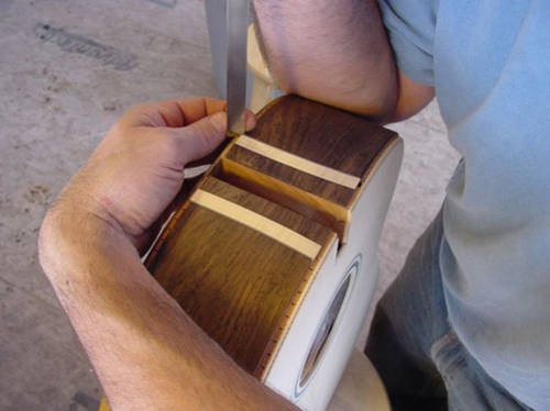 Mitering Purfling Joints