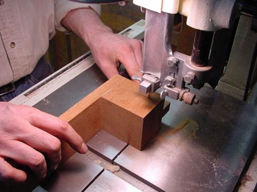 Bandsaw To Shape Neck